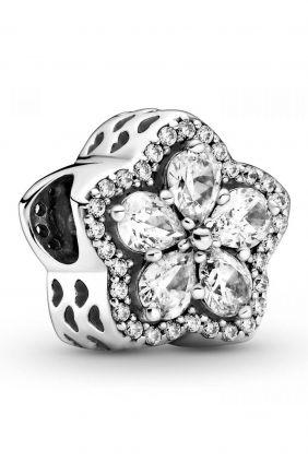 Comprar online Pandora Charm en plata de ley Copo de Nieve Brillante 799224C01