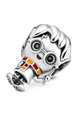 Pandora Charm plata Harry Potter