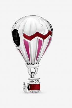 Pandora Charm plata colgante Globo esmalte