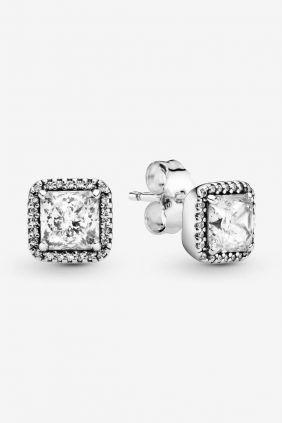 Comprar Pendientes Pandora en plata Elegancia Atemporal 290591CZ