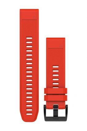 Pulsera Garmin Silicona rojo llama QuickFit® 22