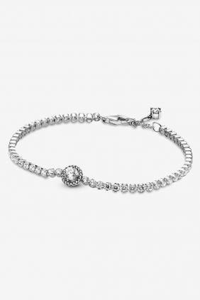 Comprar online Pulsera Halo Brillante Pandora Circonitas 599416C01
