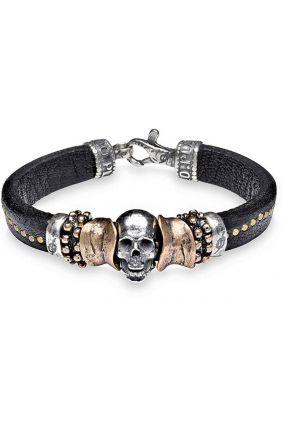 Comprar online Pulsera PlataDePalo Skull CAB37B