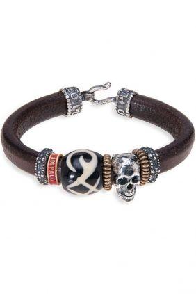 Comprar online Pulsera PlataDePalo Skull Tribal SB026X