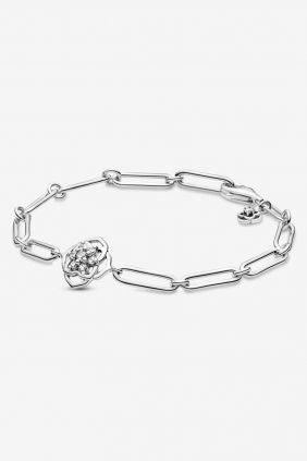 Comprar online Pulsera de Eslabones Pétalos de Rosa Pandora