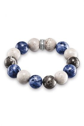 Comprar online Pulsera étnico Power Bracelet azul Thomas Sabo A1577
