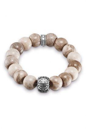 Comprar online Pulsera étnica Hombre Power Bracelet marrón Oh my god! A1577