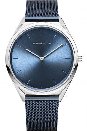 Reloj Bering Ultra Slim Hombre Azul
