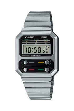 Comprar online Reloj Casio A100WE-1AEF 13 años 1 pila