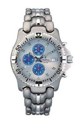 Comprar online Reloj Festina chrono caballero titanio 8801
