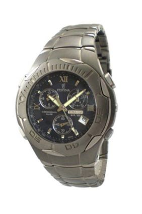 Comprar Reloj Festina chrono caballero titanio F6667