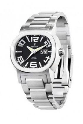 Comprar Reloj Festina señora esfera negra calendario F16124
