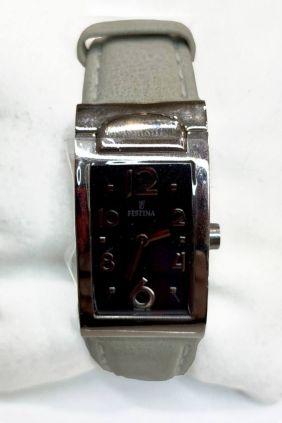 Reloj Festina señora esfera rectangular con correa piel F16230/5