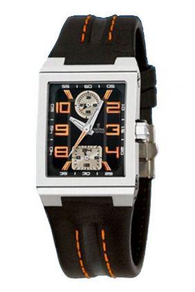 Comprar online Reloj Festina señora esfera rectangular correa piel negra F16224