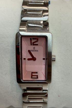 Reloj Festina señora esfera rectangular rosa