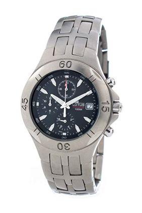 Reloj Lotus Titanio Crono