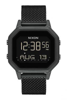 Comprar online Reloj Nixon Siren Correa Milanese All Black A1272-001-00