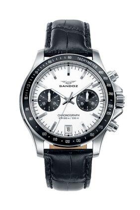 Comprar Online Reloj Sandoz 81405-07 swiss made cronógrafo hombre