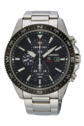 Comprar online Reloj Seiko PROSPEX solar crono caballero SSC705
