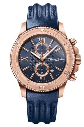 Thomas Sabo Reloj REBEL RACE Blue Rosé