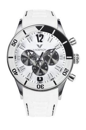 Reloj Viceroy blanco caballero deportivo multifunción 42110