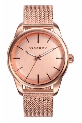 Reloj Viceroy caballero vintage rosa con armys de esterilla
