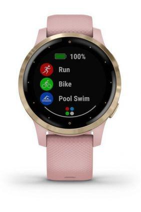 Reloj inteligente Garmin vívoactive 4s 010-02172-32 rosa