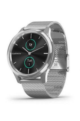 Reloj inteligente Garmin vívomove Luxe 010-02241-03 plateado