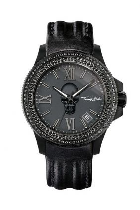 Thomas Sabo Reloj Rebel Icon acero pvd negro