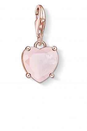 Thomas Sabo colgante charm corazon con piedra