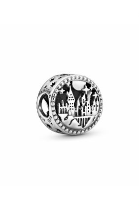 Pandora Charm plata colegio hogwarts de magia y hechiceria