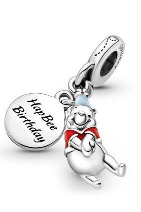 Charm Colgante Cumpleaños de Winnie the Pooh de Disney Pandora