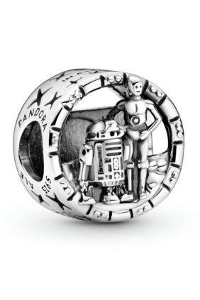 Comprar Charm en filigrana C-3PO y R2-D2 Star Wars en plata de Pandora