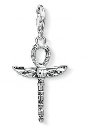 Colgante charm Thomas Sabo llave de la vida ang con escarabajo