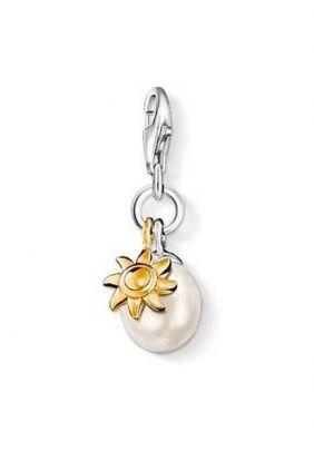 Oferta Charm - Abalorio perla con sol Thomas Sabo 0925