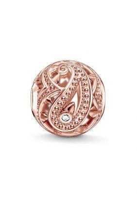 Karma beads Estampado Cachemir Rosa Thomas Sabo K0217-416-14